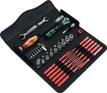Werkzeugset KK W1 35-teilig Wartung Klapptasche
