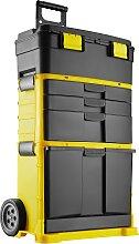 Werkzeugtrolley Stipe - schwarz/gelb