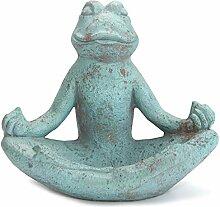 Werner Voss Gartendeko Stein - Frosch Meditierend