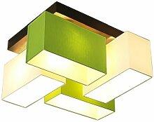 Wero Design Deckenlampe Deckenleuchte Leuchte-Bilbao-004 Mix Weiß/Green