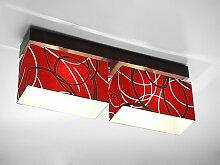 Wero Design Deckenlampe Deckenleuchte Leuchte-Vitoria-010-Red