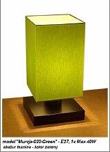 Wero Design Tischlampe Tischleuchte Lampe Leuchte-Murcja-020-Green
