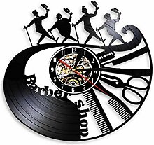 Werpow Vinyl Wanduhr Büro Dekoration Kichen