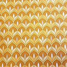 Werthers Stoffe Stoff Meterware wasserdicht gelb
