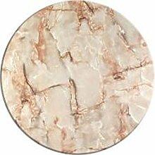 Werzalit / hochwertige Tischplatte / Marmor Onyx /