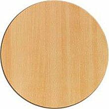 Werzalit Tischplatte Dekor Buche geplankt 80 cm