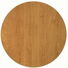 Werzalit Tischplatte, Dekor Eiche 80 cm rund