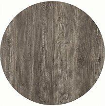 Werzalit Tischplatte Dekor Ponderosa grau 60 cm
