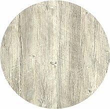 Werzalit Tischplatte, Dekor Ponderosa Weiß 60 cm