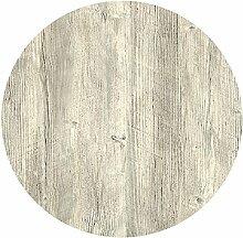 Werzalit Tischplatte, Dekor Ponderosa weiß 80 cm