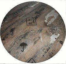 Werzalit Tischplatte HPL Dekor Ex Works 80 cm rund