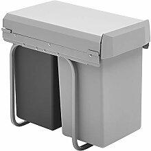 Wesco 755611-11 Einbau-Abfallsammler Double-Boy