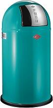 Wesco Abfallsammler PUSHBOY 50 Liter blau