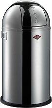 Wesco Abfallsammler PUSHBOY 50 Liter grau