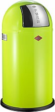 Wesco Abfallsammler PUSHBOY 50 Liter grün