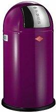 Wesco Abfallsammler PUSHBOY 50 Liter lila