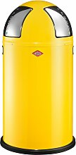 Wesco Abfallsammler PUSHTWO 50 gelb Haushaltswaren