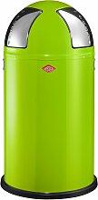 Wesco Abfallsammler PUSHTWO 50 grün