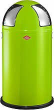 Wesco Abfallsammler PUSHTWO 50 grün Mülleimer