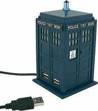 Wesco Doctor Who Tardis USB 4Port Hub Station