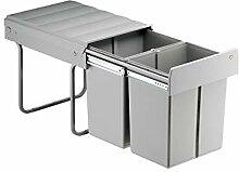 WESCO Einbau Abfallsammler Double-Master Maxi 40