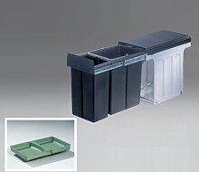 WESCO Einbau Abfallsammler Profiline Bio-Double 30