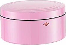 WESCO GebäckDS Gebäckdose, Edelstahl, rosa, 24 x