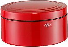 Wesco GebäckDS Gebäckdose, Edelstahl, rot 24 x