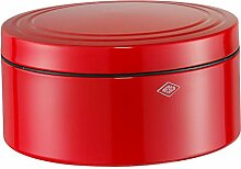 WESCO GebäckDS Gebäckdose, Edelstahl, rot, 24 x