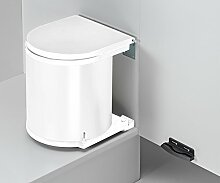 Wesco Küchen Mülleimer 11 Liter Badezimmer Abfalleimer Abfallsammler *40053