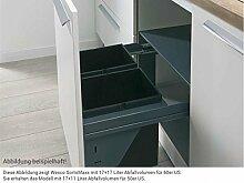 Wesco SortoMaxx 840503-60 Einbau Abfallsammler