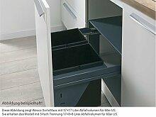 Wesco SortoMaxx 840603-60 Einbau Abfallsammler Abfallsammelsystem Müll-Eimer