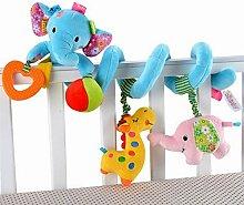 WESEEDOO Kinderwagen Spielzeug Baby Hängen Rassel
