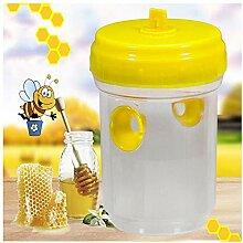 Wespenfalle - Bienenfalle im Freien, 9x7.5x13cm,