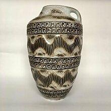 Westdeutsche Mid-Century Bodenvase aus Keramik von