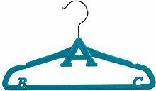 Westeng Kinder Kleiderbügel aus Kunststoff Rutsch Kleiderbügel(5pcs)