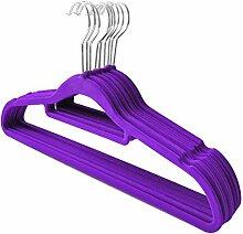 Westeng Rutsch Kleiderbügel Kunststoff-Kleiderbügel Bekleidungsgeschäft Kleiderständer Multifunktions -Racks(10pcs)