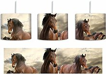 Western Pferde Cowboy inkl. Lampenfassung E27,