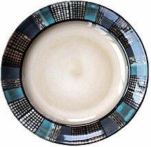 Western Teller Kreative Keramik Platte Grill Steak