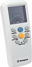 Westinghouse Lighting Radiofrequenz-Fernbedienung, Temperaturkontrolle, Zeittimer, LCD Display, Geschwindigkeit und Licht regelbar 7787440