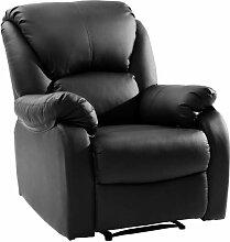 Wetiny Modern Luxe Fernsehsessel Relaxsessel Leder