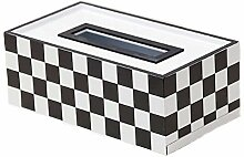 Wetour kosmetiktücherbox Tissue Box Holz,