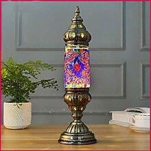 WETRR Handgemachte Glaslampe Marokkanische