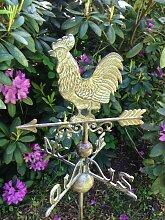 Wetterhahn Windspiel, Gartenhaus Dekoration,