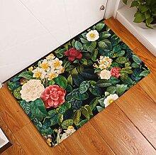 WEVGOUO Manueller Küchenläufer Teppich Flannel