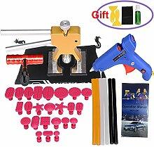 Weylon 34Pcs Pro Tabs PDR Werkzeuge Dent Reparaturwerkzeuge Paintless Dent Reparaturwerkzeug
