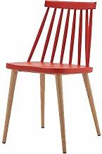 WFchairs Kunststoff Rückenlehne Stuhl,