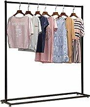 WFENG Stabiler Garderobenständer, Einfacher und