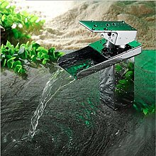 wffmx Europäische Kupfer Chrom Moderne Wasserfall