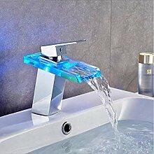 wffmx Led Wasserhahn Badewanne Waschbecken Mit RGB